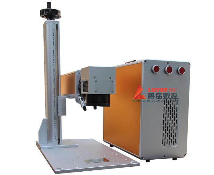 Compact Mini Metal Fiber-Laser Engraving Machine