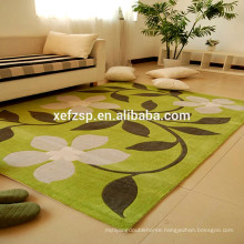 super absorbent 100% polyester microfiber living room indoor mats 100% polyester printed waterproof soft shaggy rug
