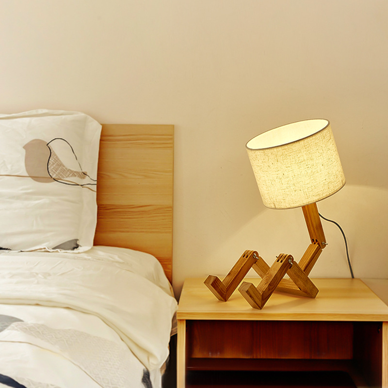Application Wooden Table Lamps
