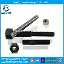 В наличии Китай Штифт болт производителя astm a193 gr b7 с оцинкованной / тефлоновой поверхностью