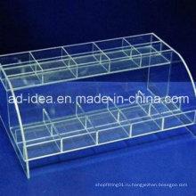 Практичный акриловый Дисплей стойки/ акриловая мебель/ Exhioition для косметики