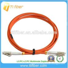15Meter Optical Fiber Patchcord Multimode Duplex LC/LC