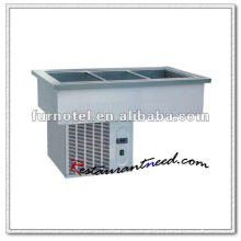 K117 Stainless Steel Bain Marie, Cooling Bain Marie better in thermal insulation