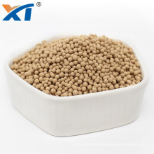 desiccant 13x molecular sieve beads for removal of CO2 and moisture from air