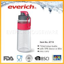 Reutilización de botellas de plástico vacías con tapa de plástico PP Srew