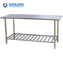 SKH070 Stainless Steel Work Table With Under Shelf For Sale