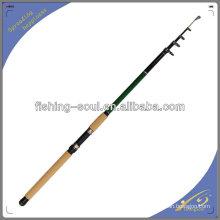 TSR001 Alta Qualidade De Carbono Telespin Varas De Pesca