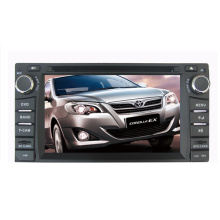 2DIN Car DVD Player Fit for Toyota Corolla Universal RAV4 Camry Prado Land Cruiser LC100 Hilux 2003-2006 with Radio Bluetooth TV Stereo GPS Navigation System