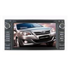 2DIN автомобильный DVD-плеер, пригодный для Toyota Corolla универсальный RAV4 Camry Прадо земли крейсер LC100 Hilux 2003-2006 годы с радио Bluetooth стерео TV GPS навигационной системы