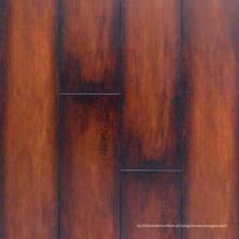 Assoalho estratificado impermeável da textura comercial do Woodgrain de 12.3mm E1 AC4