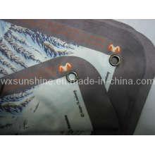 Impression de cartes en tissu de nettoyage en microfibre (ES-013)