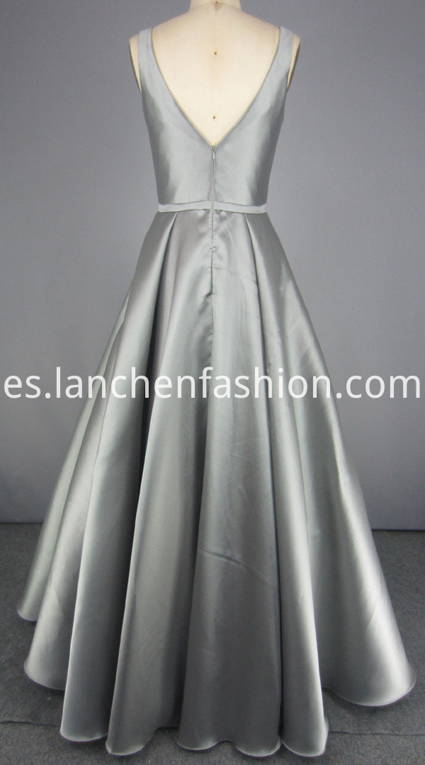 V Neck Ball Gown