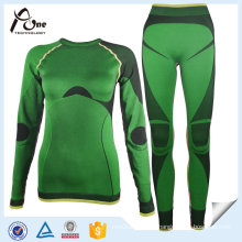 Winter Base Layer Lady Ski Seamless Underwear Sets