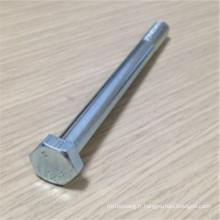 Boulon haute résistance zingué ASTM A490