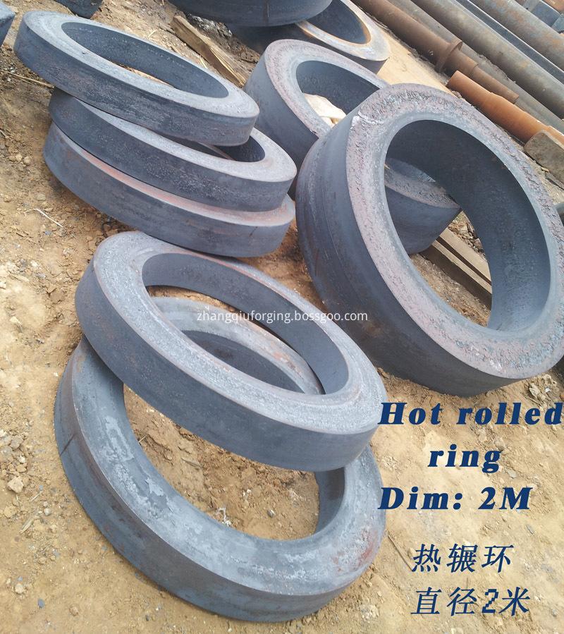 Forged Carbon Steel Excavator Slewing Bearing
