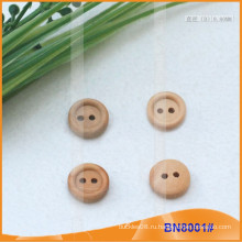 Естественные деревянные кнопки для одежды BN8001