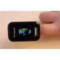 Blood Oxygen Oximeter Monitor Medical Finger Pulse Oximeter