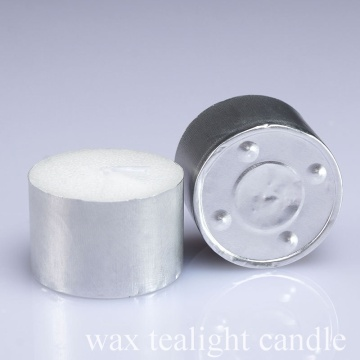 12g No khói White Wax Tea Light Light