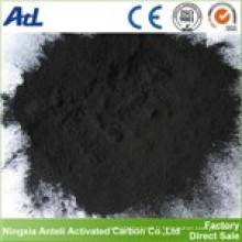 purification de l'huile de soja activé poudre de charbon de bois de qualité alimentaire
