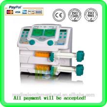Pompe de seringue médicale à double canal à chaud MSLIS02