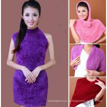 Hochwertige Nylon Taiwan Magic Schal für Frauen (MU6603-1)