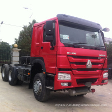 SINOTRUCK cheap HOWO 371 tractor trucks tracteur camions 6*4  low price