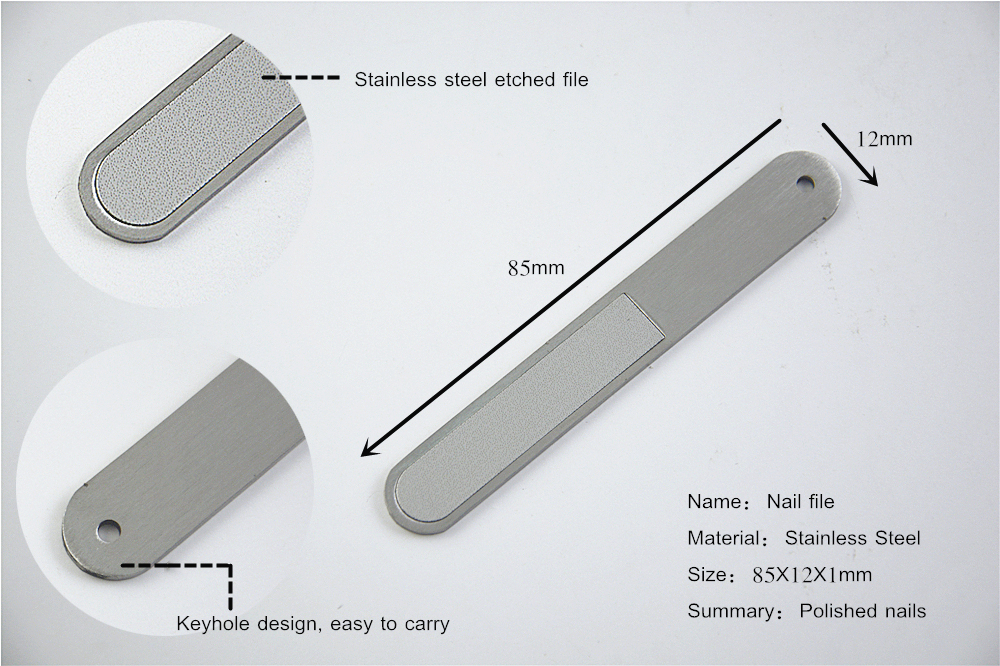 Small Metal Nail File