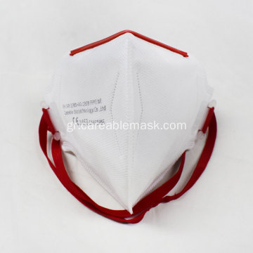 FFP3 Folded Flat Mask Head Band CE EN149