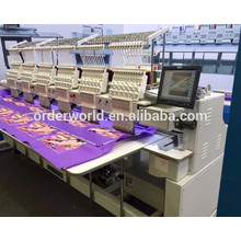ORDER BEST 6 head computer embroidery machine / programmable embroidery machine