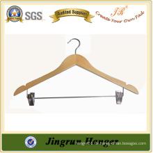 Antike Sperrholz hölzerne Hosen Kleiderbügel für Kleider