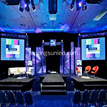 Tela LED Full Color HD Stage para interiores