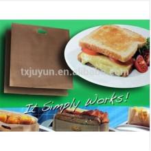 PTFE non-stick reusable toast bag