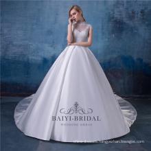 Vintage High Neck Wedding Dress Bridal Gown Muslim Wedding Dresses China