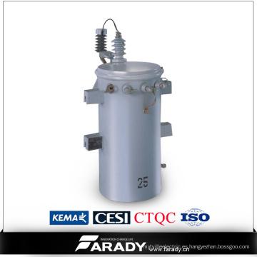 13800V 50 kVA Completo Auto Protección Pole Montado Overhead Csp Transformer
