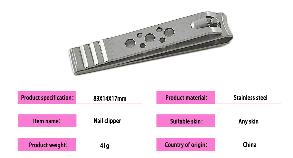 Seki Edge Stainless Steel Toenail Clipper