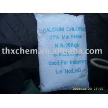 Flocon de chlorure de calcium 77% min