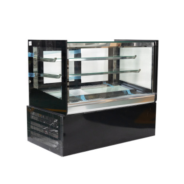 supermercado mini refrigerador escaparate de la torta