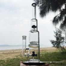 Dark Twin Imaginez des tubes en eau de fumée en verre de cigarette (ES-GB-292)