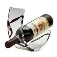 Einzelne perfekte Countertop Black Acryl Wein Display mit Logo Hersteller