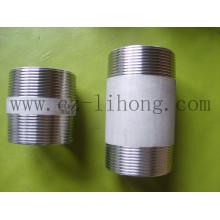 """4 """"de acero inoxidable 316L DIN2999 barril pezón"""