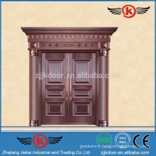 JK-RC9204 Porte extérieure à double feuille en cuivre