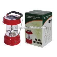 factory price solar led lantern , led solar lantern, solar lamp with fm radio