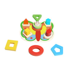 Butterfly Shape Puzzle Wooden Toy for Kids and Children