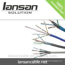 LSZH FR PVC Jacket Para LANSAN AMP CAT6 CABLE