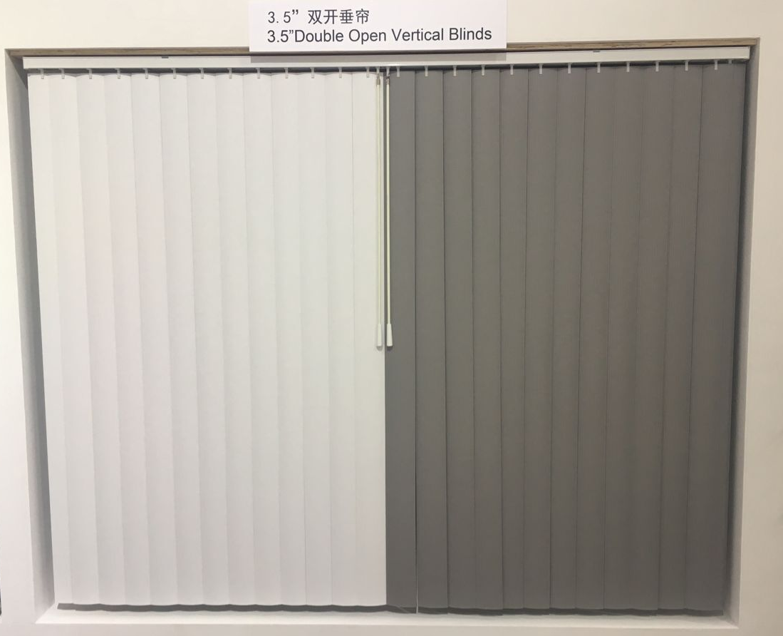 CENTER VERTICAL BLINDS