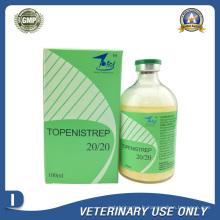 Médicaments vétérinaires du sulfate de dihydrostreptomycine + injection pénicilline G procaine