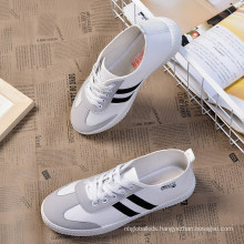 Breathable Cotton Fabric Canvas Running Man Shoes