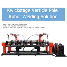 Kwickstage Cross Bar Welding Workstation