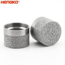 HENGKO 316 316L sintered stainless steel powder sintered filter tube powder sintered cartridge filter