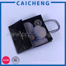 Shopping Use und Karton Material Kraftpapiersack